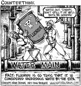 Fluoridation Toxic Waste